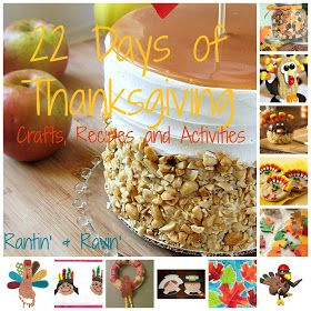 Rantin' & Ravin': 22 DAYS OF THANKSGIVING!!!  For days when I feel like being an over-achiever