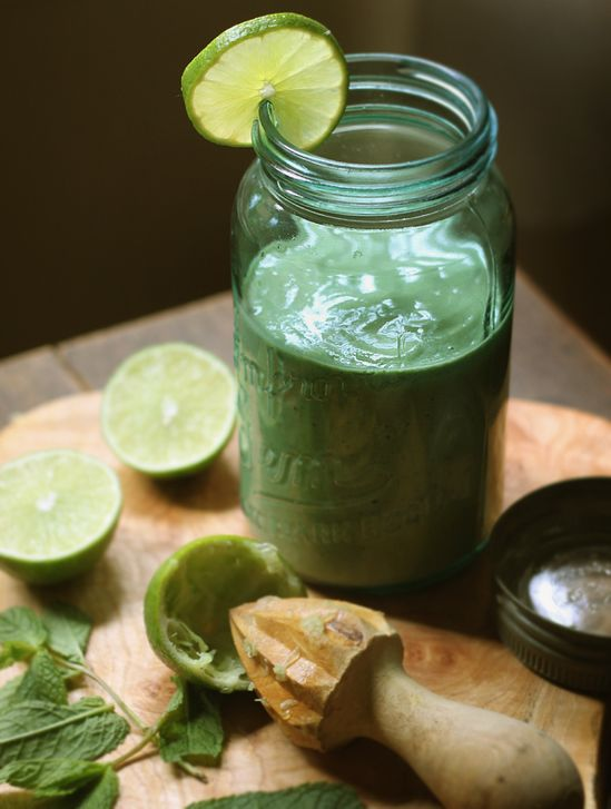 My New Roots: Introducing Summer Lights + The Mojito Smoothie