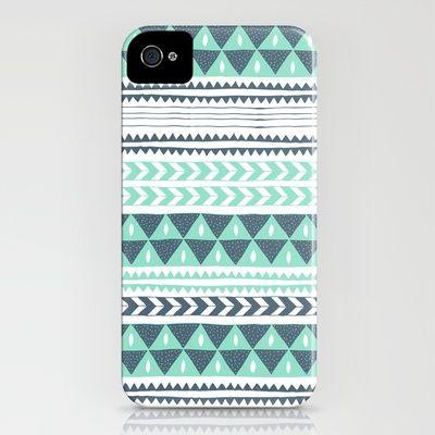 winter stripe case
