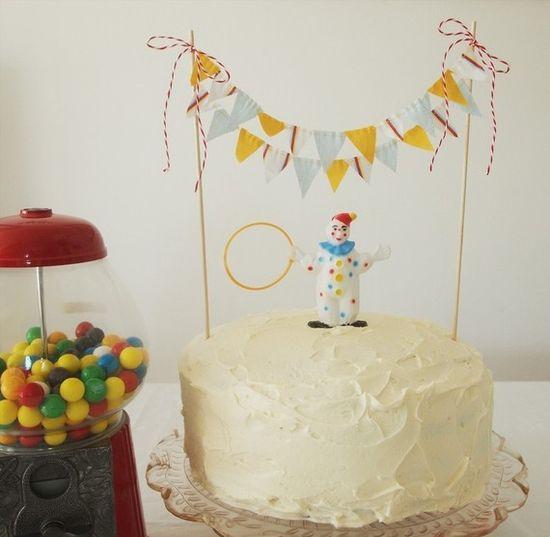 Circus cake - Cute!