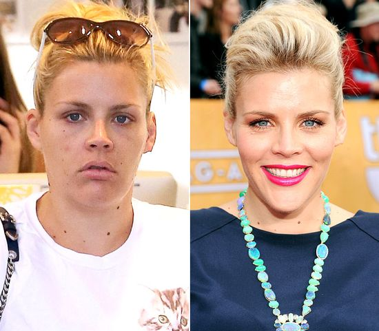 Busy Philipps with no makeup