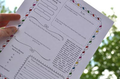 downloadable journal pages with prompts.