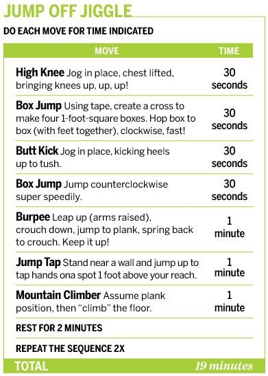 Easy 20 min workout... LOVE these!