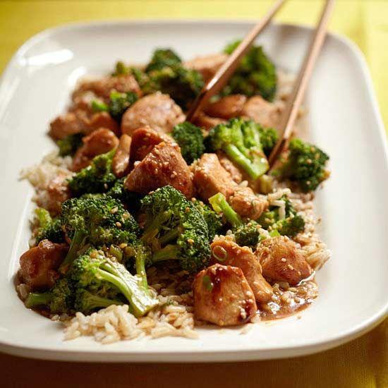 Make your own Sesame Chicken! More chicken stir fry recipes: www.bhg.com/...