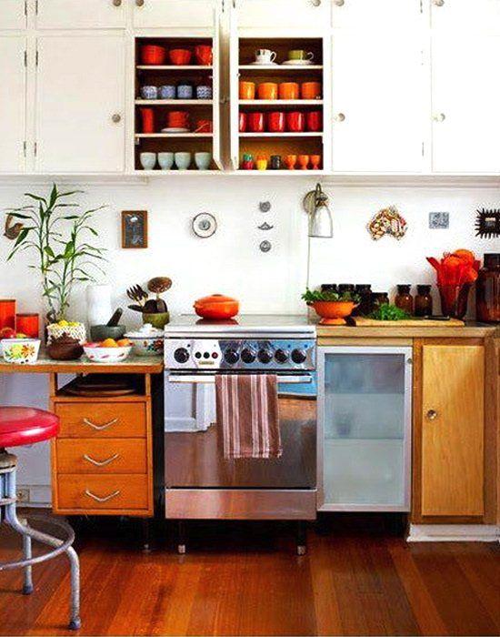 Zesty Orange Kitchen Decor