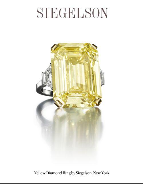 Yellow Diamond by Siegelson