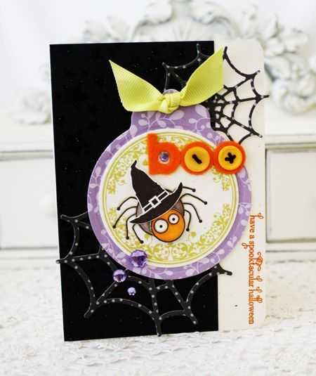 Cute Halloween card!