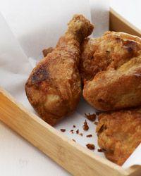 Beer-Battered Buttermilk Fried Chicken Recipe on Food & Wine