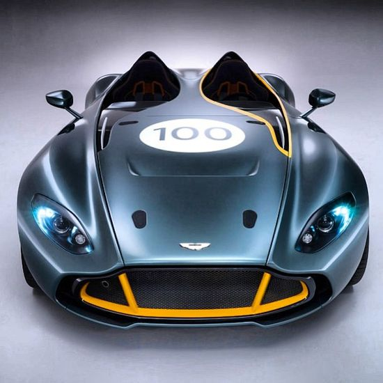 New Aston Martin CC100 Speedster