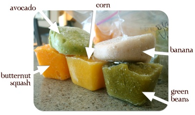 Making your own baby food
