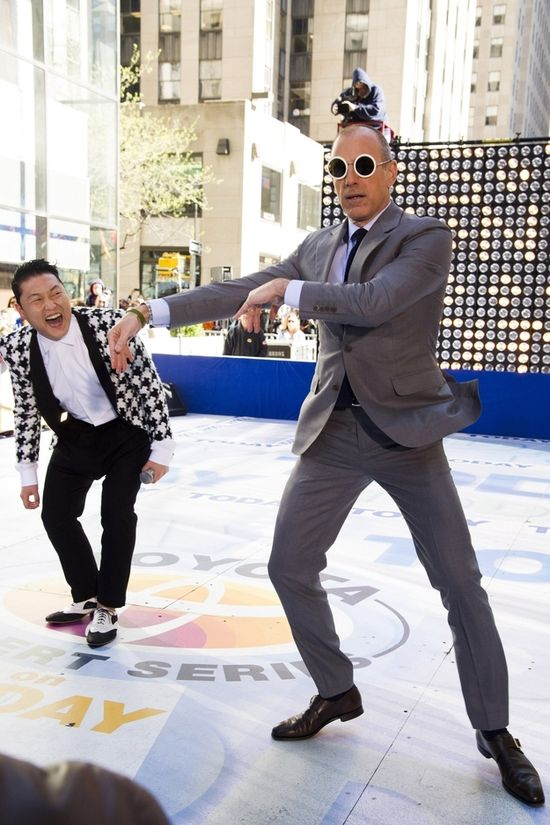 Matt Lauer Did Gangnam Style On The Today Show