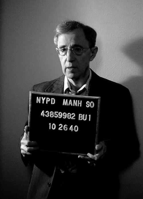 Woody Allen [mug shot]