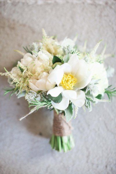 white #bouquet