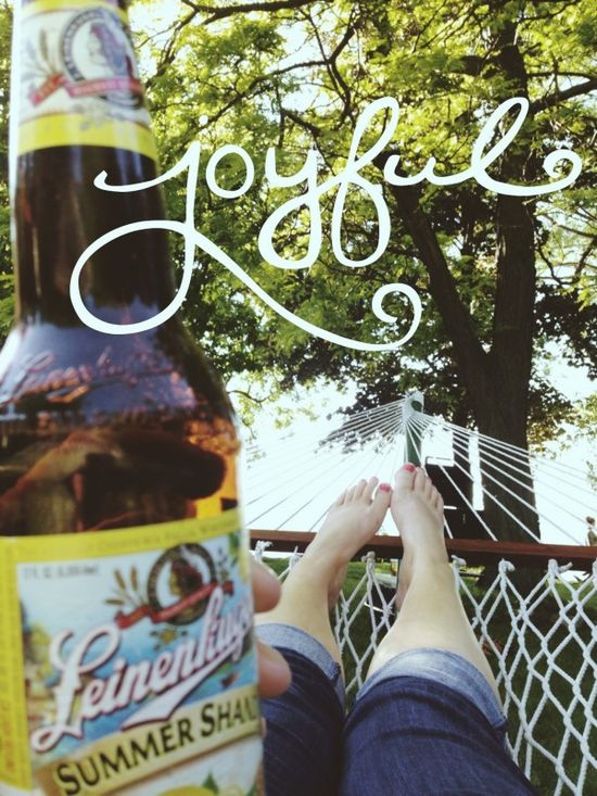 Perfect summer afternoon...