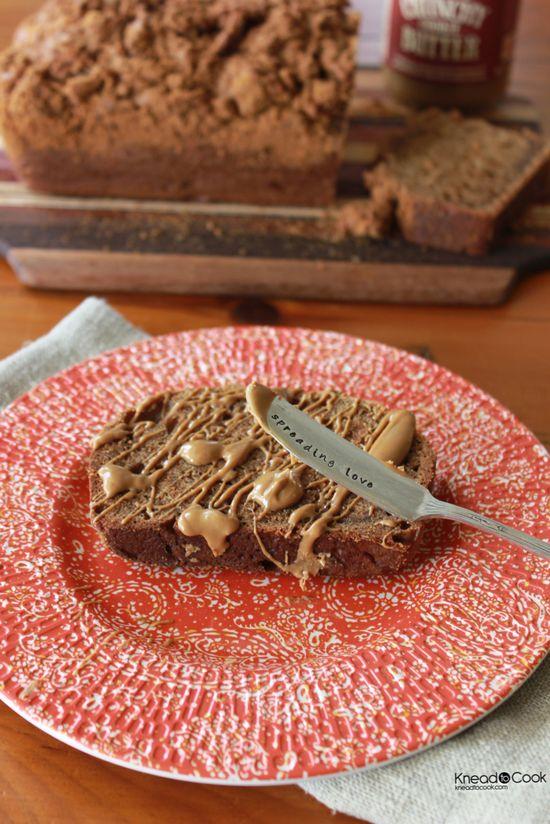 Cookie Butter Chobani Banana Bread via @Katherine Adams Stang-Nead to Cook