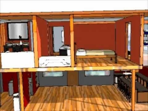 ? Container Home Design - YouTube