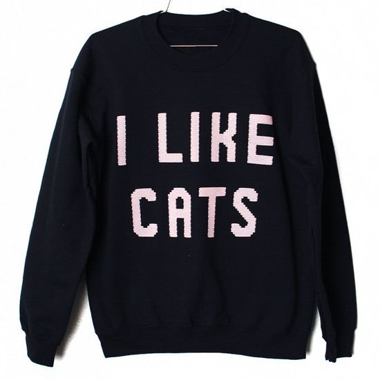 {i like cats} simple, but oh so true.