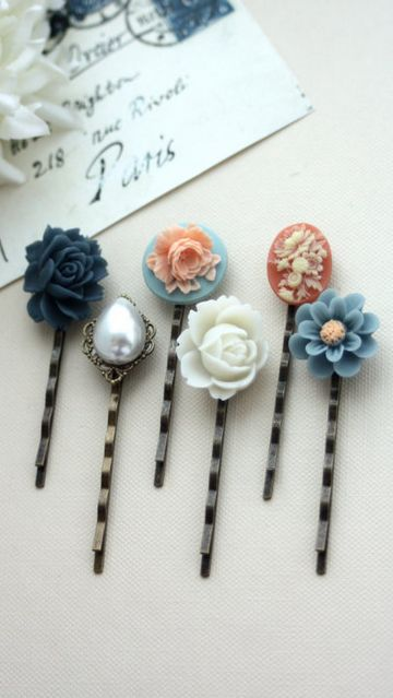 pretty pins, simple DIY.