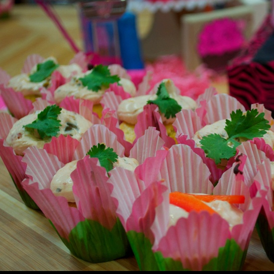 Ole Savory Cupcake