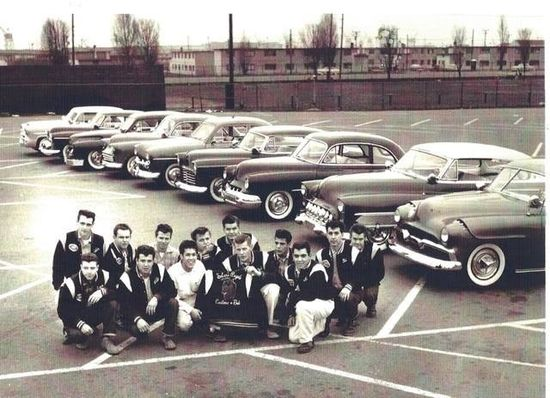 50s guys and their awesome cars