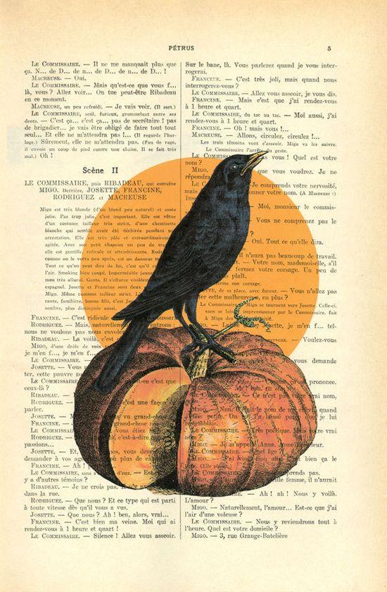 Halloween book art