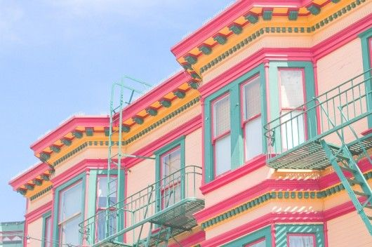 colors of San Francisco