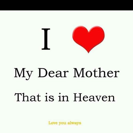 In memory of my mother who was also my best friend. ?