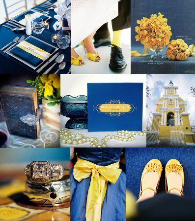 Navy blue & Yellow @Jenny
