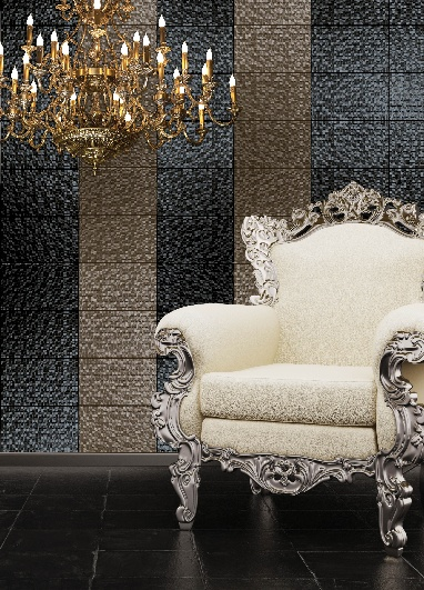 These black Hartland tiles are so striking. www.profiletree.c... #interior, #design, #tiles, #elegant