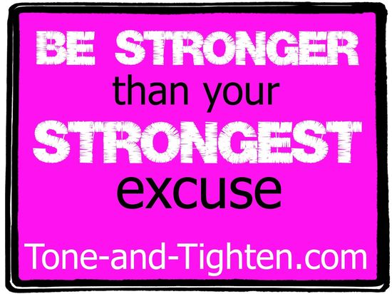 Monday Motivation from Tone-and-Tighten.com. Check out this site for at-home workouts, nutrition, and tons of fitness tips!