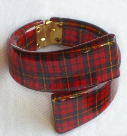 Vintage Lucite bracelet