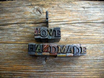 Hand made.