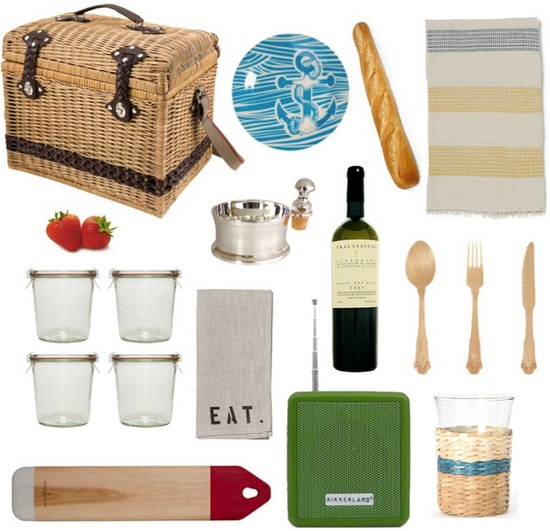 chic summer picnic