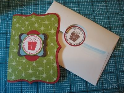 Tutorial #1 – Top Note Gift Card Holder