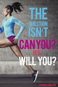 Will you? #motivation #fitness