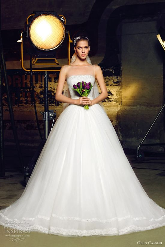 oleg cassini 2012 bridal collection