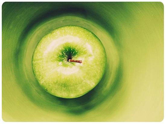Bell'effetto #green #verde #mela #apple #color