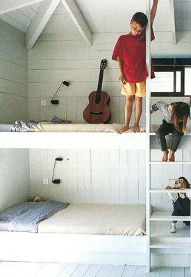 Corsica Coastal Childrens Bedroom Bunks