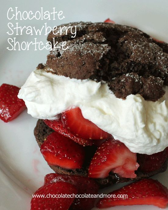 Chocolate Strawberry Shortcake, taking Strawberry Shortcake to the next level!