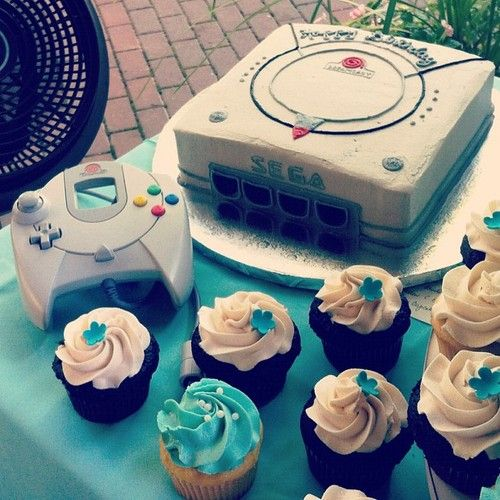 Dreamcast Cake Celeb