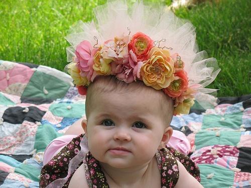 Woodland Fairy Princess crown by Studio Pink, via Flickr