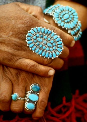 #turquoise jewelry represents the 11th anniversary