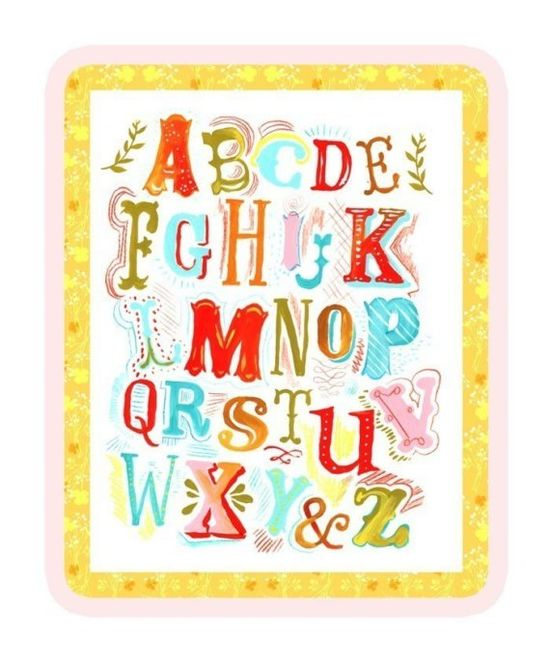 ABCs 11x14 by thewheatfield on Etsy, $22.00