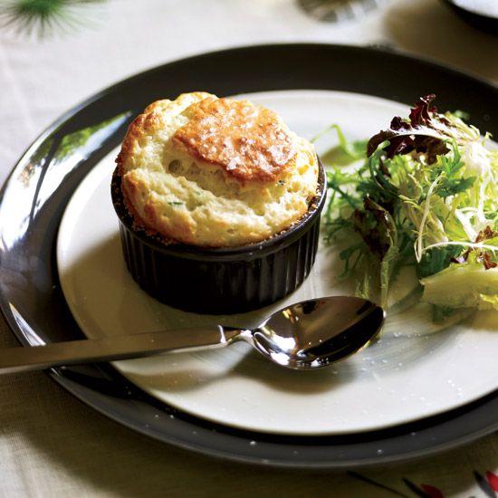 Roquefort Soufflés // More Fast French Recipes: www.foodandwine.c... #foodandwine