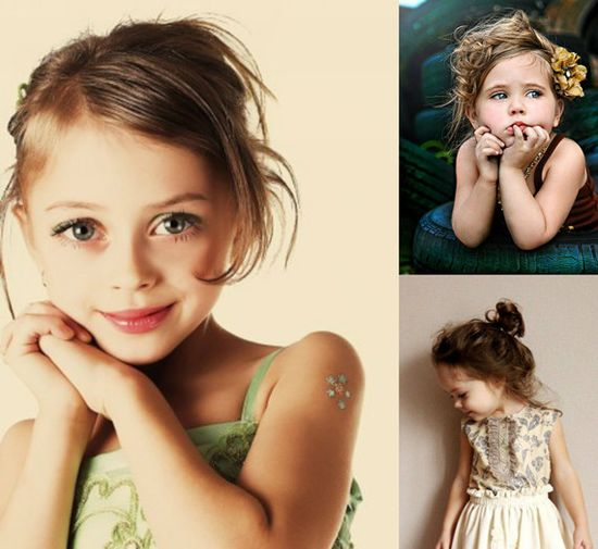 kids girl hairstyle
