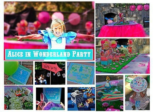Alice in Wonderland Party by Frosted Events Creative Party Design