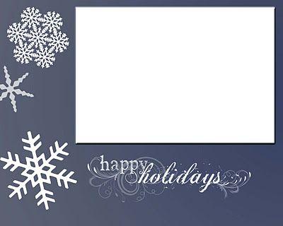 Christmas Card Display + 5 Printable Christmas Cards