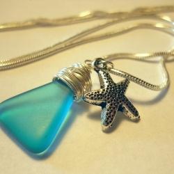 Sea glass and sea star ~~~