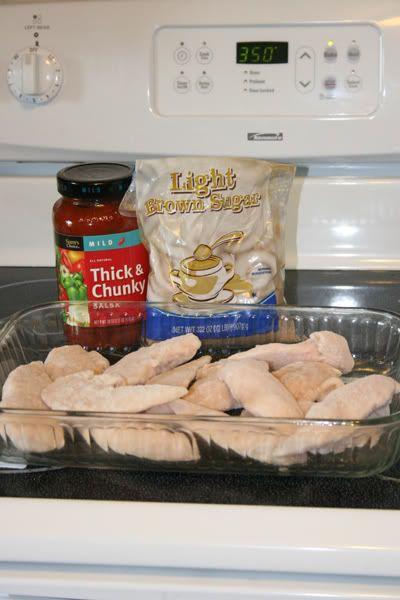 Chicken Salsa Bake