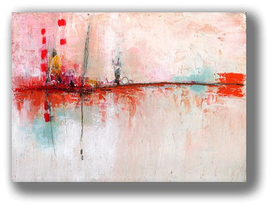 Original Landscape Abstract Painting by by ChristinaRomeo on Etsy